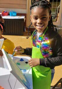 kids paint party