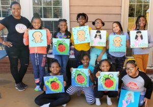 paint and play party