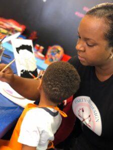 kids paint too