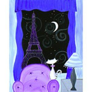 paris paint party theme