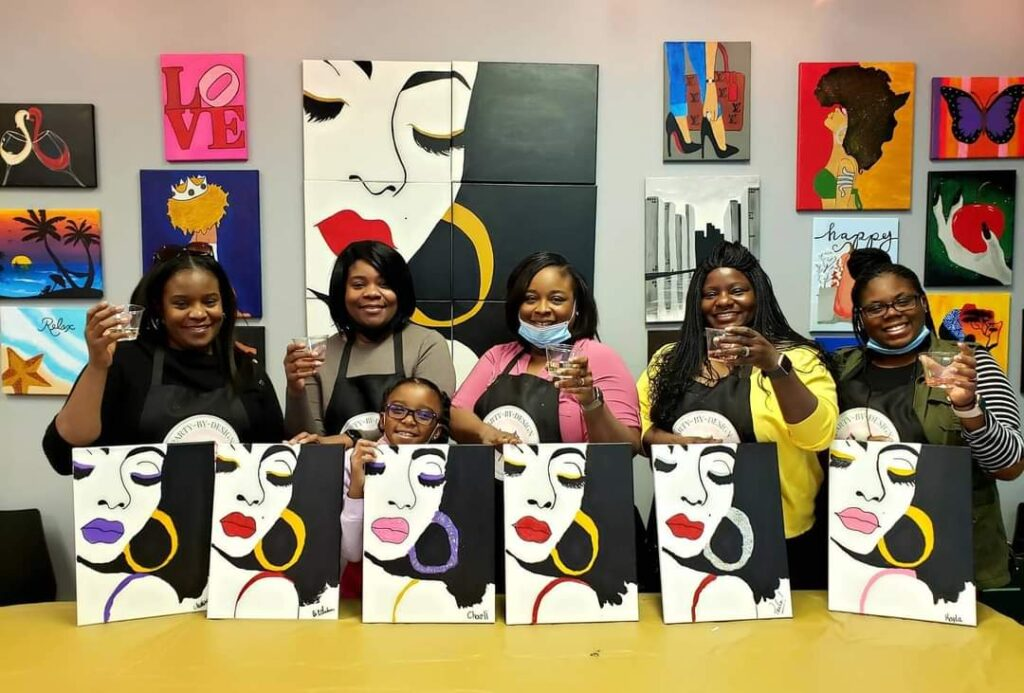 girls night out paint and sip henry county